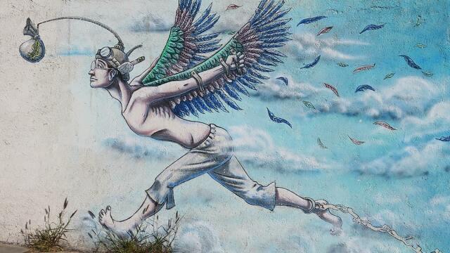 羽のついた生き物