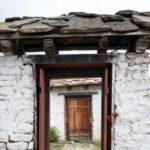 中国の家の門